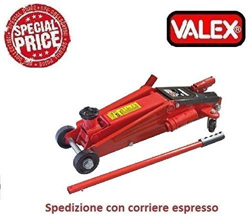 CRIC IDRAULICO A CARRELLO 2500KG 1650522 Valex