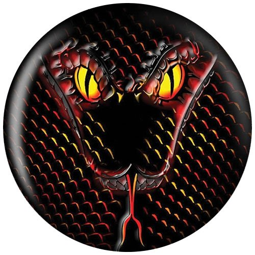 14 lbs, Bowling Ball Brunswick Viz-a-Ball Snake