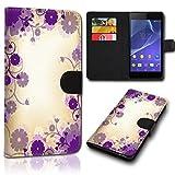 Book Style Alcatel One Touch Go Play 7048X Tasche Flip Brieftasche Handy Hülle Kartenfächer für Alcatel One Touch Go Play 7048X - Design Flip SVH139