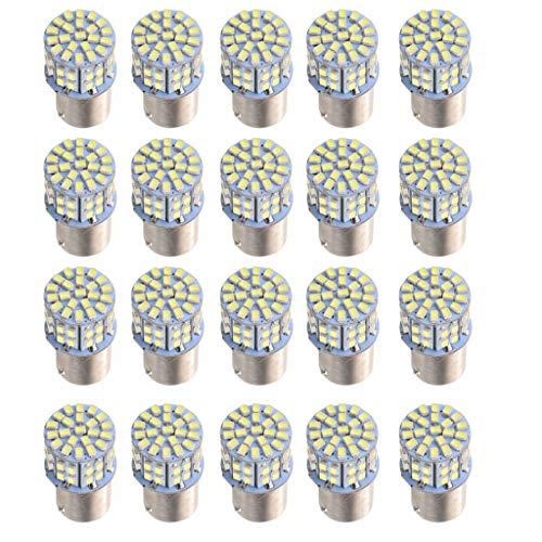 perfk 1156 Ampoules LED Blanc Clignotant 12V DC