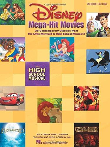 Disney Mega-Hit Movies: Easy Piano: For Easy Piano