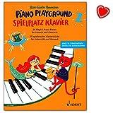 Parque de juego para piano/piano Playground Band 2 - 25 piezas de piano para clases y conciertos.