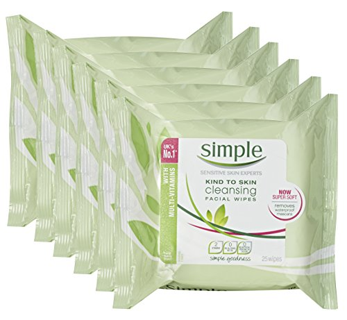Simple Paquet de 25 lingettes nettoyantes