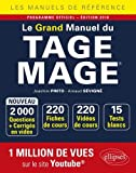 Le Grand Manuel du TAGE MAGE® - 220 fiches de cours, 15 tests blancs, 2000 questions + corrigés en...