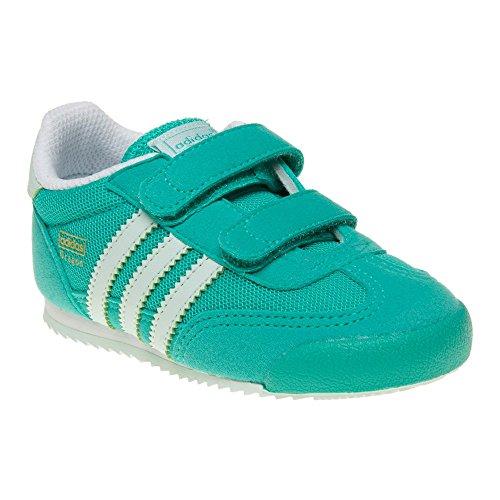 adidas Unisex Baby Dragon CF I Sneakers, Turquesa (Menimp / Menhie / Ftwbla), 23 EU