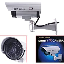 Telecamera Konig CCTV da esterno finta dummy cam 30 finti led con lampeggiante IR infrarossi