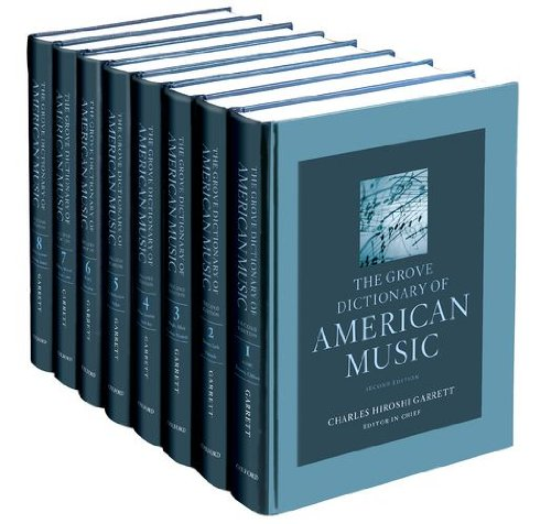 The Grove Dictionary of American Music (Dictionary Oxford Dance Of)