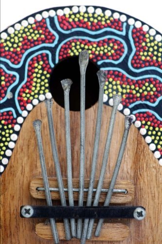 colorful-kalimba-africanthumb-piano-musical-instrument-journal-150-page-lined-notebook-diary