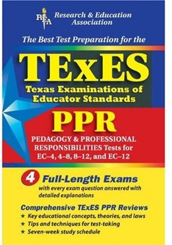 TExES PPR (REA) - The Best Test Prep for the Texas Examinations of Educator Stds (Test Preps) by Stephen C. Anderson Ph.D. (2003-11-24)