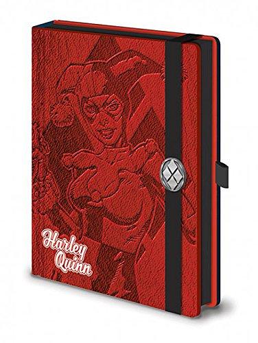 cuaderno-de-notas-premium-dc-comics-din-a5-harley-quinn-rojo