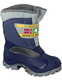 Spirale Lars 78118779 Unisex Kids Boys Girls Snow Boots Winter Boots  Childrens Wellington Boots Lined
