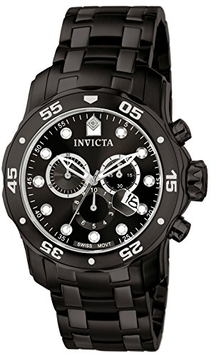Invicta-Mens-Quartz-Watch-with-Black-Dial-Chronograph-Display-and-Black-Stainless-Steel-Bracelet-0076