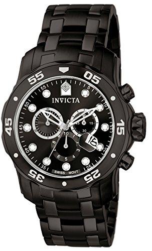 Invicta 0076 Herren-Armbanduhr