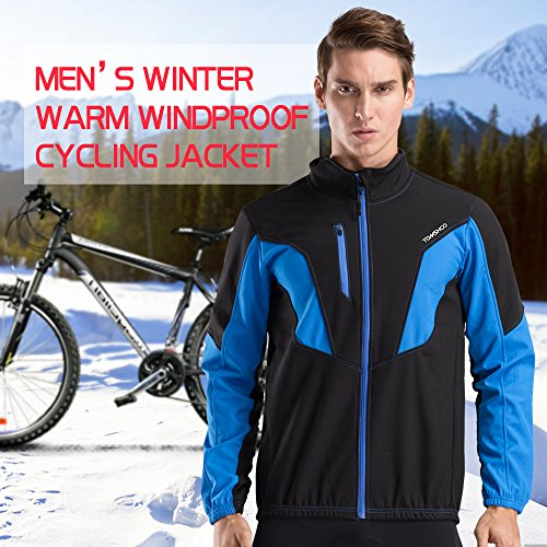 Zoom IMG-4 tomshoo abbigliamento ciclismo invernale uomo