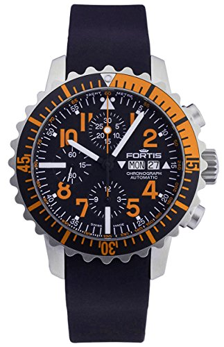 fortis-b-42-marinemaster-day-date-automatic-chronograph-steel-orange-mens-watch-6711949-k