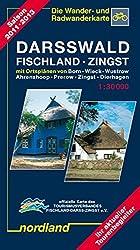 Nordland Karten, Darsswald, Fischland, Zingst (Deutsche Ostseeküste)