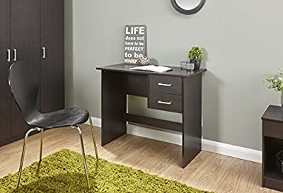 Home Source - Classic 2 Hanging Drawer Vanity Dressing Table Work Storage Desk - low-cost UK light shop.