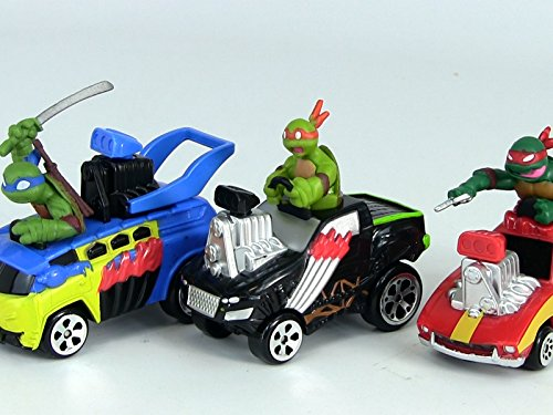 Review: T-Machines Ninja Vehicles with Sounds (Ninja T Teenage Mutant)