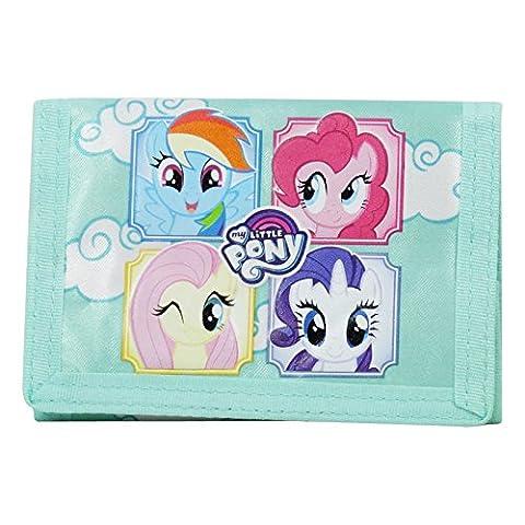 My Little Pony Fringe Portefeuille Velcro Pour Enfant Porte-Monnaie Cartes Pochette