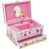 Caja de Música con diseño de hadas mágicas - Joyero Musical para niñas - Lucy Locket