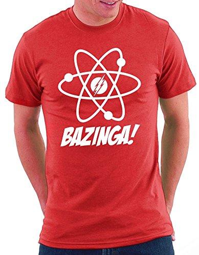 The Big Bang Theory Atomic T-shirt Rot