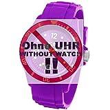 Ice-Watch Uhrband Wechselarmband Original Ersatzband SI S.09 Uhrenarmband Silikon 20 mm Lila