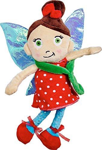 Der irische Fee Tür Company fd554266Irish Tür, Fairy Friends Plüsch, weiches Spielzeug, Teddy, Evie Bee