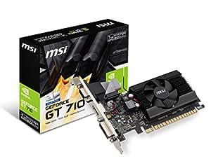 MSI Geforce GT 710 1GD3H LP Carte Graphique GeForce GT710