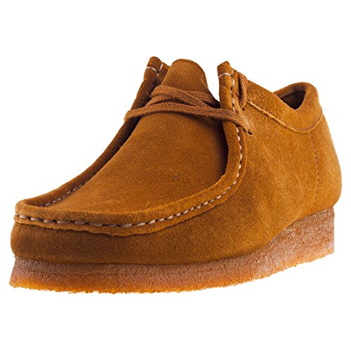 Clarks Wallabee Scarpa Marrone