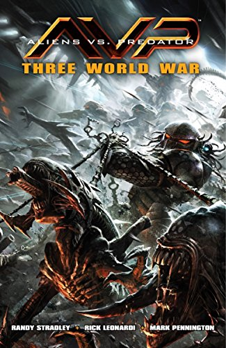 Aliens vs. Predator: Three World War por Randy Stradley