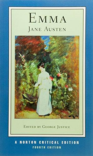 Emma (Norton Critical Editions) por Jane Austen