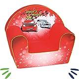 DELSIT Kindersessel Babysessel Kinder Sessel Baby Sitz Kindermöbel für Jungen DRIFT KING Rot
