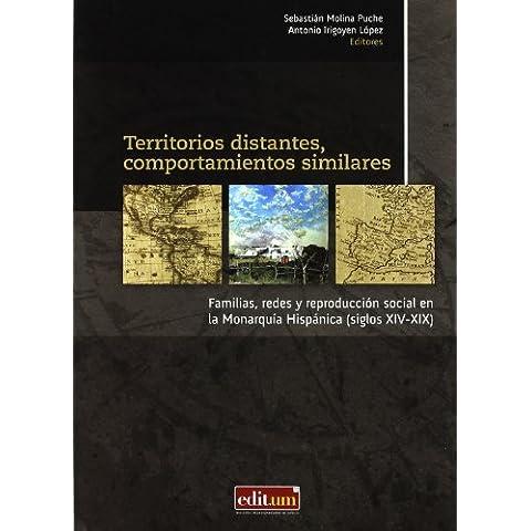 Territorios Distantes, Comportamientos Similares: Familias, redes y reproducción social en la monarqúia hispánica (siglos
