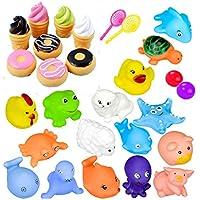 Juguetes de baño, Animal juguetes de bañera para niños Accesorios de baño de piscina de