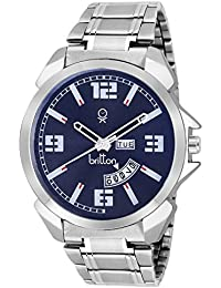 BRITTON Day and Date Display Analogue Blue Dial Men's Watch -BR-GR181-BLU-CH