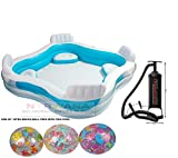 #8: Intex Swim Center Family Lounge Inflatable Pool, 90
