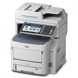 OKI MC760DN 1200 x 600DPI LED A4 28ppm Blanc - multifonctions (LED, Colour printing, Colour copying, Colour scanning, 100000 pages par mois, Copie, Télécopie, Impression, Numérisation)