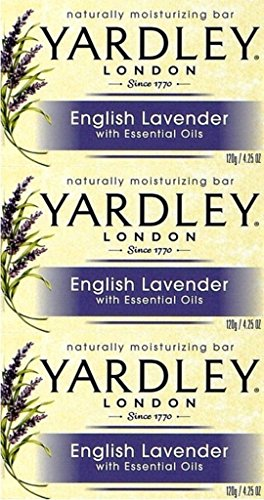Yardley Lavender Soap Bar 120g x 6 Packs