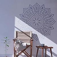 Mandala Arabisch Wandschablone - Schablonen für Wände - Maler Schablonen - Wandschablone Mandala