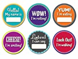Sticky Bellies Baby Month Stickers - Mil...