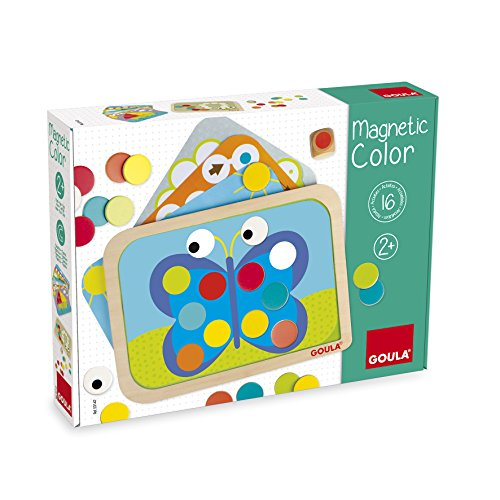 Goula - Set Magnético Colores, Color Amarillo / Rojo / Azul...
