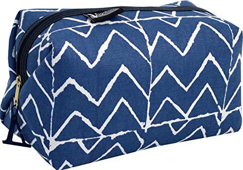 Vagabond Bags Mojave Medium Boxy Holdall Bag Beauty Case 23 centimeters Blu (Blue)
