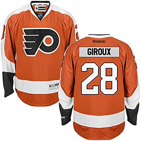 28 Claude Giroux Trikot Philadelphia Flyers Jersey Ice Hockey Shirt Mens