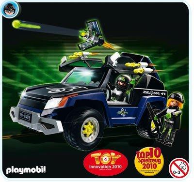 Preisvergleich Produktbild PLAYMOBIL® 4878 - Robo Gangster SUV und 4879 - Spionage Kameraset mit USB und 4856 - RC Modul Set Plus