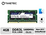 Timetec Hynix memoria 4 GB DDR3 1600 MHz PC3 - 12800 SODIMM per selezionati IC compatibile con Apple MacBook Pro, iMac, MacMini