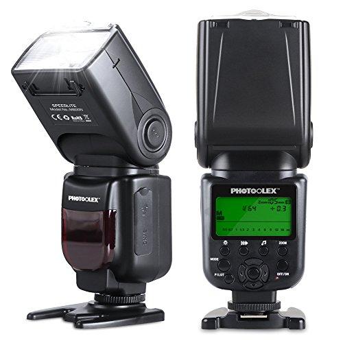 Photoolex M800N Blitzgeräte 1/8000s Nikon Blitz iTTL / TTL Nikon Flash für Nikon D7200 D7100 D7000 D5200 D5100 D5000 D3000 D3100 D300 D300S D700 D600 und Andere Nikon DSLR Kamera