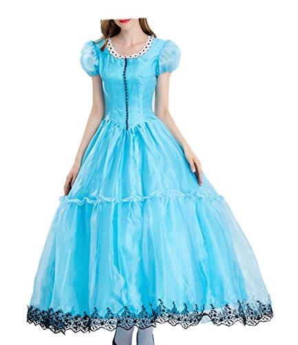 Damen Victorian Lolita Princess Kleider Halloween Cosplay Kostüm
