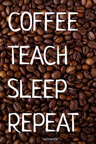 epeat: Kaffee Notizbuch Lustiges Kaffeejunkie Geschenk Barista Kaffeeliebhaber für Arbeitskollegen Mitarbeiter im Büro Cafe ... I Größe 6 x 9 I Liniert 110 Seiten ()