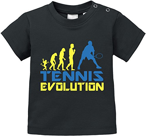 EZYshirt Tennis Evolution Baby T-Shirt