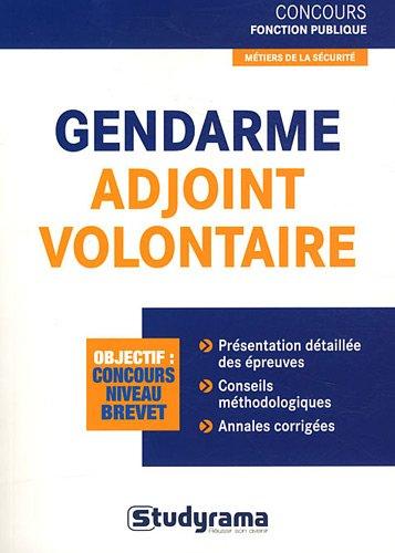 Gendarme adjoint volontaire